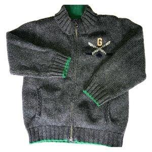 Boys GAP hockey bear sweater